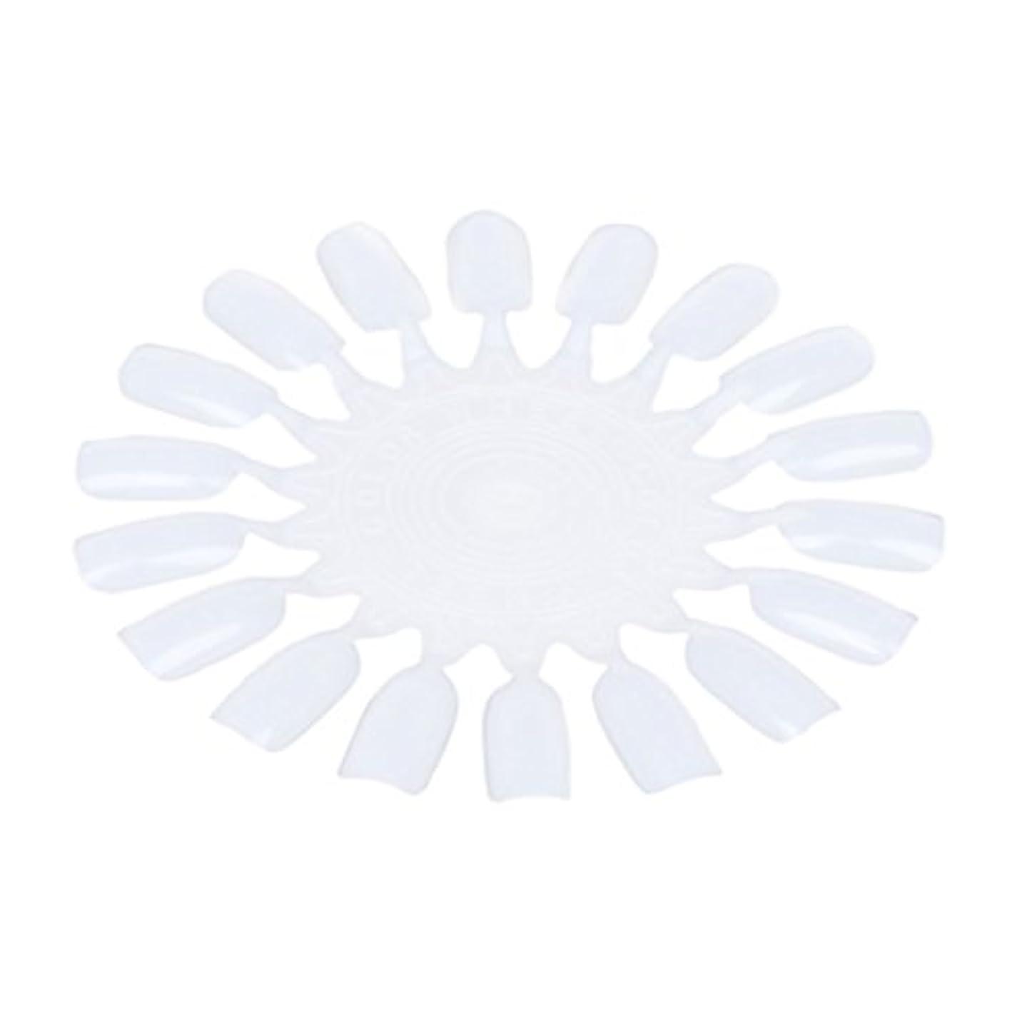 フェロー諸島談話チップNrpfell 10個 メークアップ化粧ネイル ポーランドカラー段ボールカラーチャート18カラー ベージュ