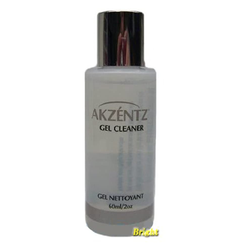 ミケランジェロコミュニティクランプアクセンツ ジェルクリーナー 60ml 未硬化ジェル拭き取り液 AKZENTZ ジェルネイル