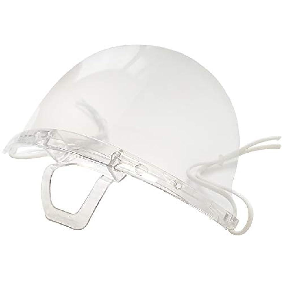 バックグラウンド再集計パレード透明衛生マスク 繰り返し使える保護用エチケットマスク接客業に最適なマスクです (10個セット)
