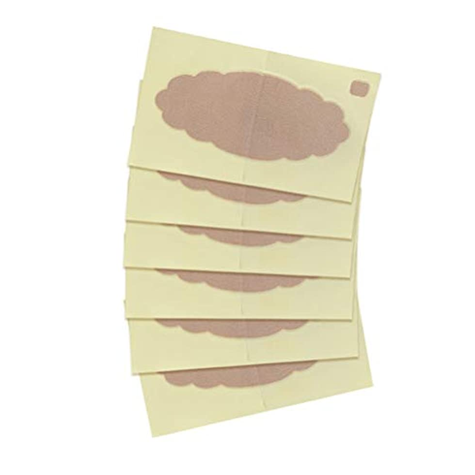 精神膜動的SUPVOX 10pcsスウェットガードパッド脇の下シールド使い捨て極薄パッド男性女性用