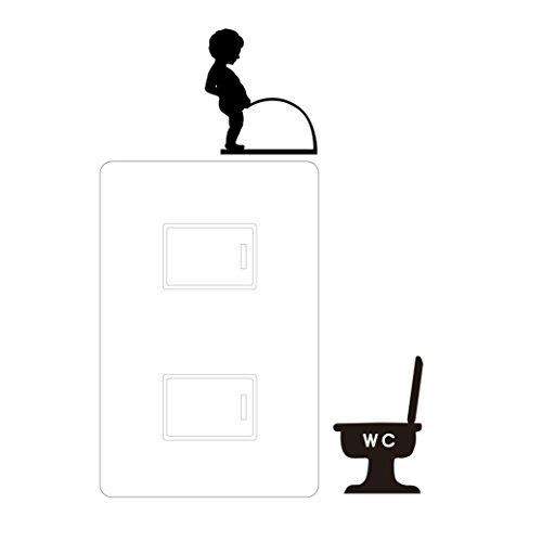 スイッチ用デコレーションシール(トイレ)【SD004】