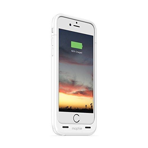日本正規代理店品・保証付mophie juice pack air for iPhone 6s/6 (2,750mAh バッテリー内蔵ケース) ホワイト MOP-PH-000069
