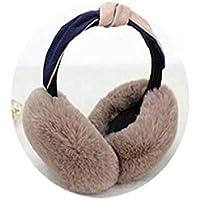 MINRUIGONGMAO-O Ear Protectors, Winter Warm Plush Earmuffs, Male And Female Portable Earmuffs, Foldable Outdoor Products, Multiple Colors Ear Protectors (Color : G)