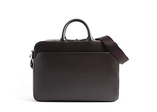 [ナヴァ・デザイン] Milano Briefcase medium MI084 CHO chocolate