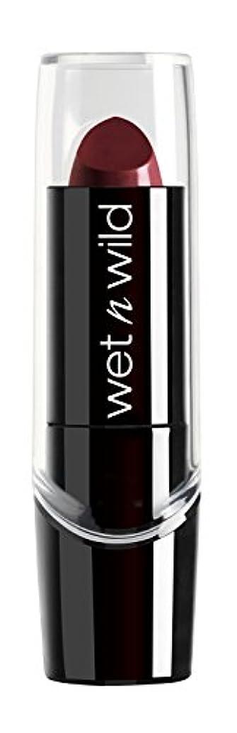 剃るワードローブ既にWET N WILD Silk Finish Lipstick - Black Orchid (並行輸入品)