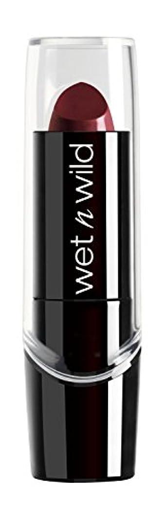 真鍮スクランブルミュートWET N WILD Silk Finish Lipstick - Black Orchid (並行輸入品)