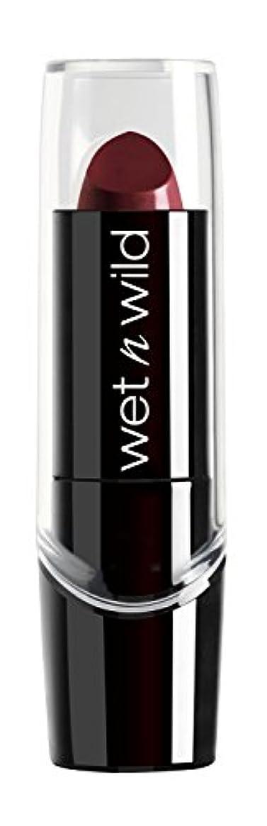 電化する警察ボウリングWET N WILD Silk Finish Lipstick - Black Orchid (並行輸入品)
