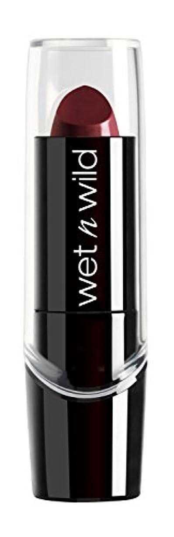 好戦的な同志シーズンWET N WILD Silk Finish Lipstick - Black Orchid (並行輸入品)