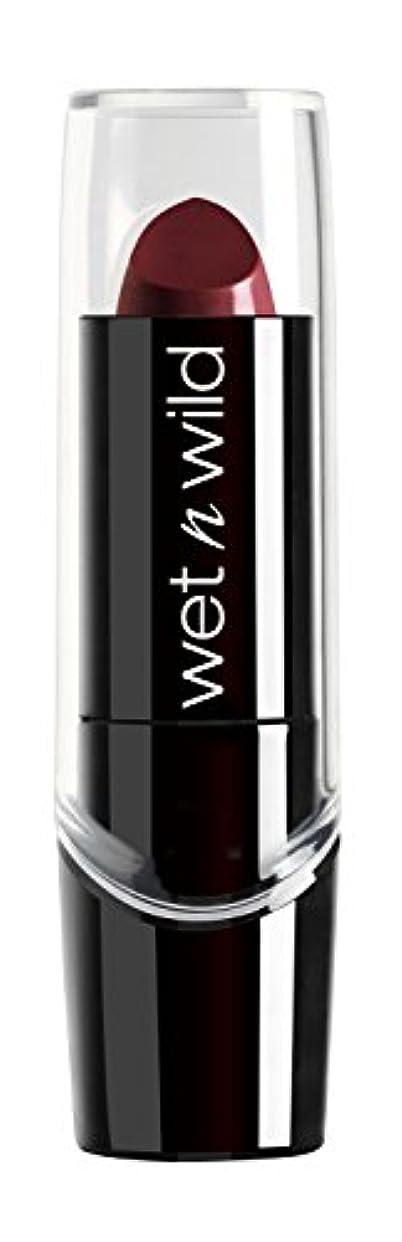 WET N WILD Silk Finish Lipstick - Black Orchid (並行輸入品)
