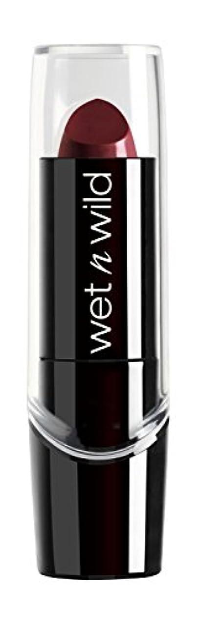 聴覚弱点強制的WET N WILD Silk Finish Lipstick - Black Orchid (並行輸入品)