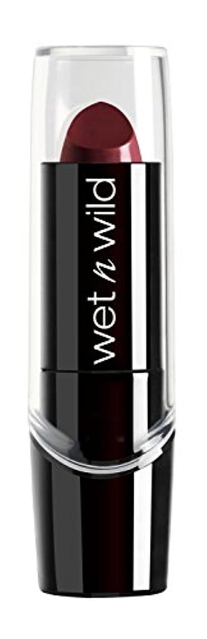 比類のないより平らな密WET N WILD Silk Finish Lipstick - Black Orchid (並行輸入品)