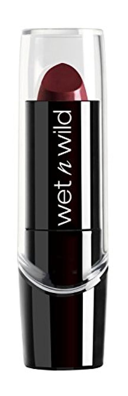 壊すフレッシュハイジャックWET N WILD Silk Finish Lipstick - Black Orchid (並行輸入品)