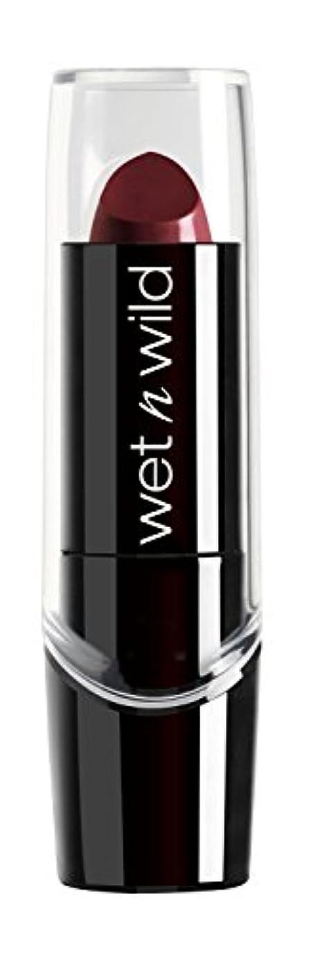 モノグラフ魔法きしむWET N WILD Silk Finish Lipstick - Black Orchid (並行輸入品)