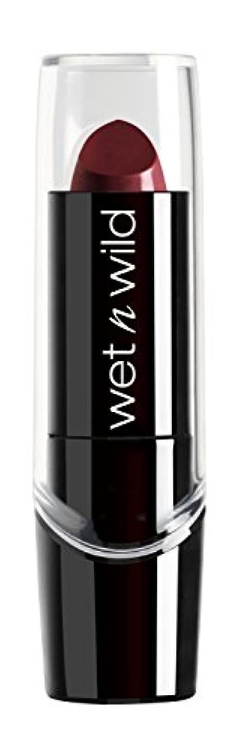 カバーガイドラインベジタリアンWET N WILD Silk Finish Lipstick - Black Orchid (並行輸入品)