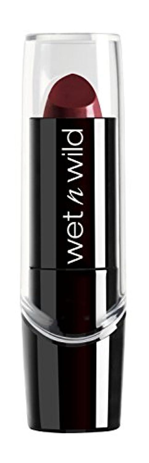 残るしないでください深さWET N WILD Silk Finish Lipstick - Black Orchid (並行輸入品)