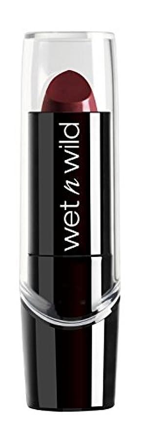 楽なしてはいけない差別WET N WILD Silk Finish Lipstick - Black Orchid (並行輸入品)