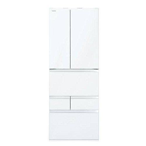 東芝 601L 6ドアノンフロン冷蔵庫 VEGETA クリアシェルホワイト GRM600FWZW