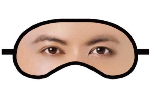 超ひらパー兄さんアイマスク 【 ひらかたパーク限定】 ☆映画チラシ3種類付
