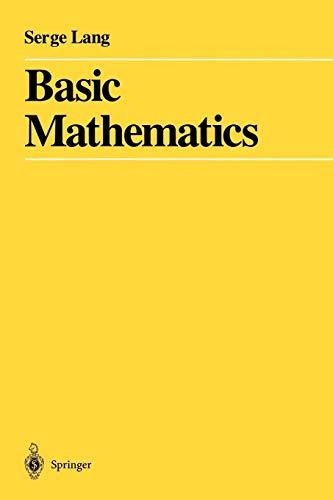 Download Basic Mathematics 0387967877