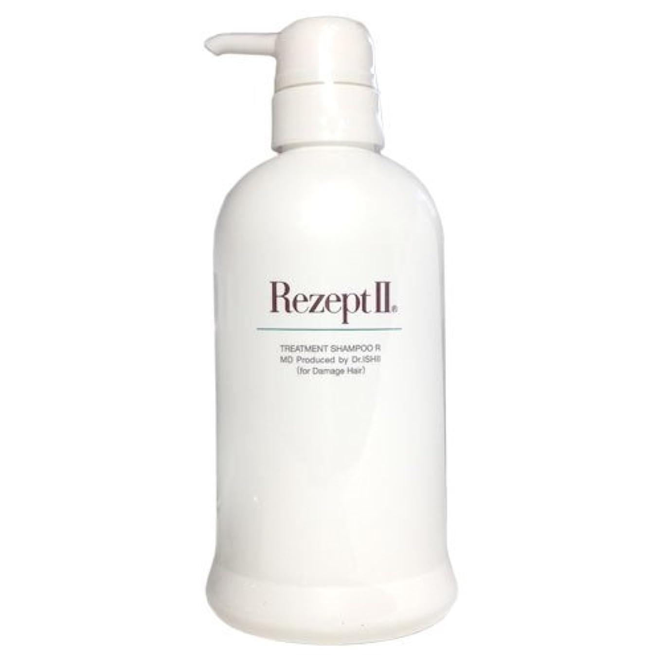免疫するクリープ吐くMD化粧品 レセプト2 トリートメントシャンプーR 500ml(ダメージヘア用)