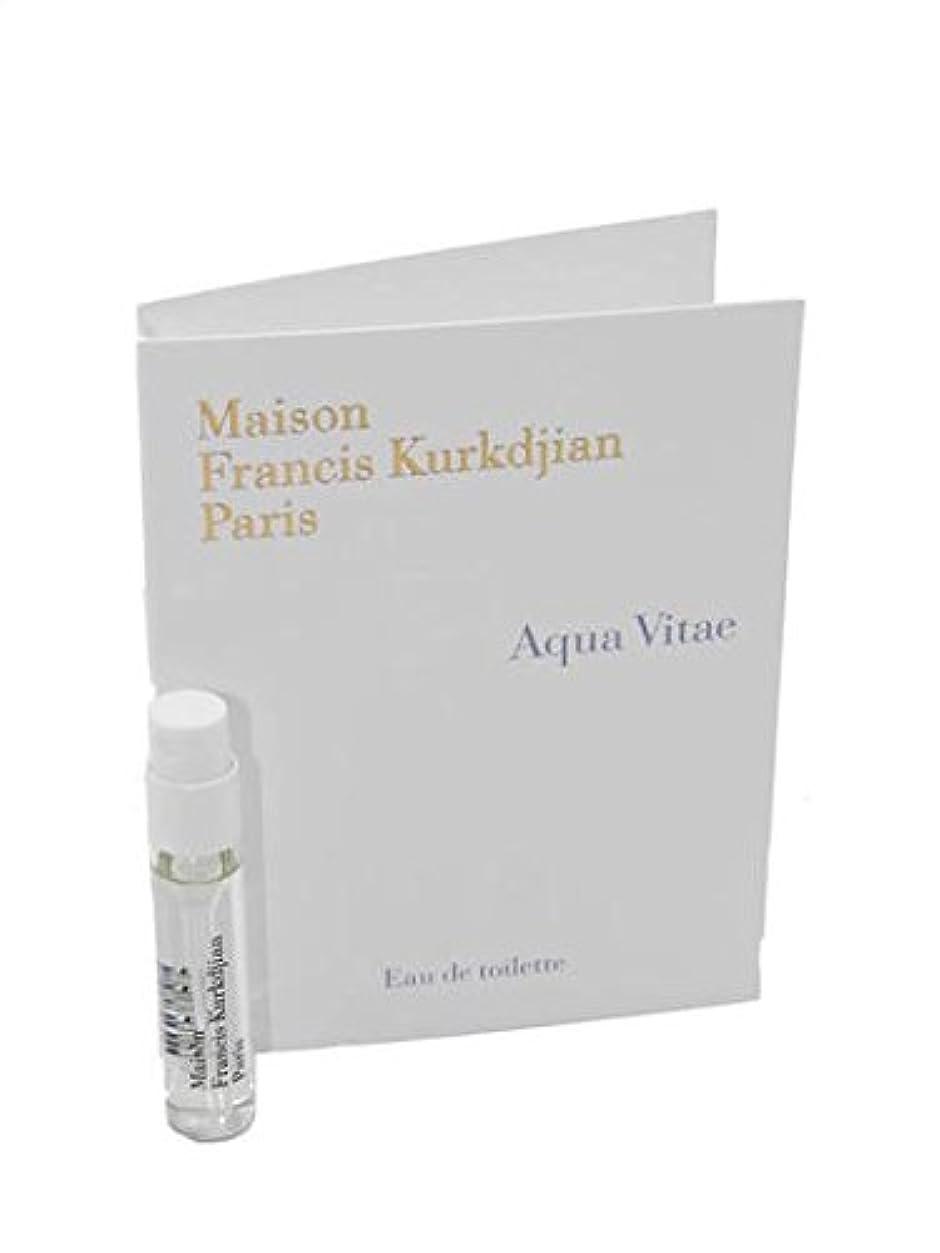 警告するただ過半数Maison Francis Kurkdjian Aqua Vitae EDT Vial Sample 2ml(メゾン フランシス クルジャン アクア ヴィタエ オードトワレ 2ml)[海外直送品] [並行輸入品]