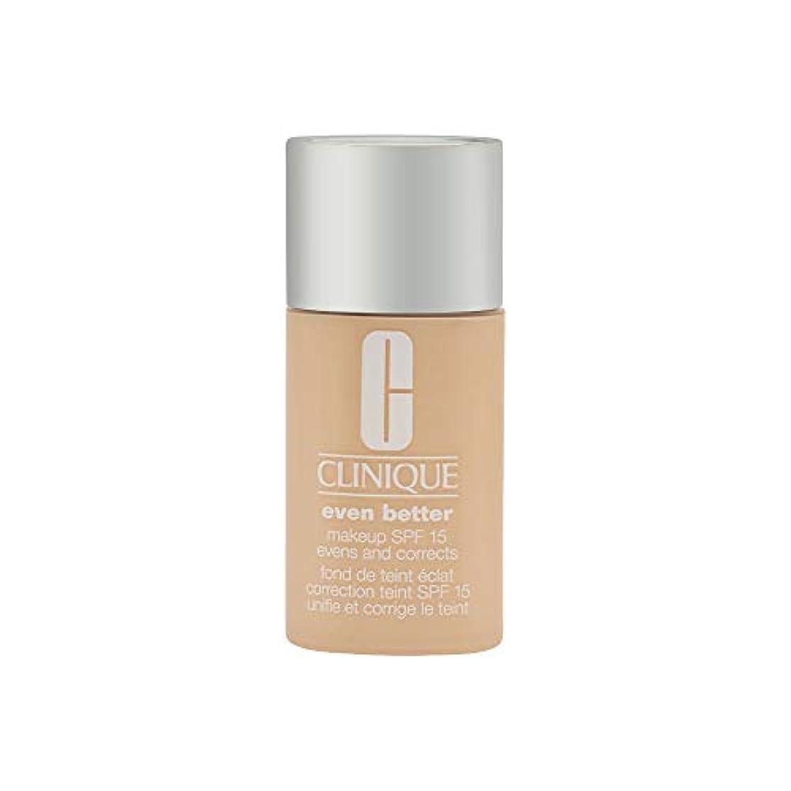 費用賃金遵守するクリニーク Even Better Makeup SPF15 (Dry Combination to Combination Oily) - CN 0.75 Custard 30ml/1oz並行輸入品