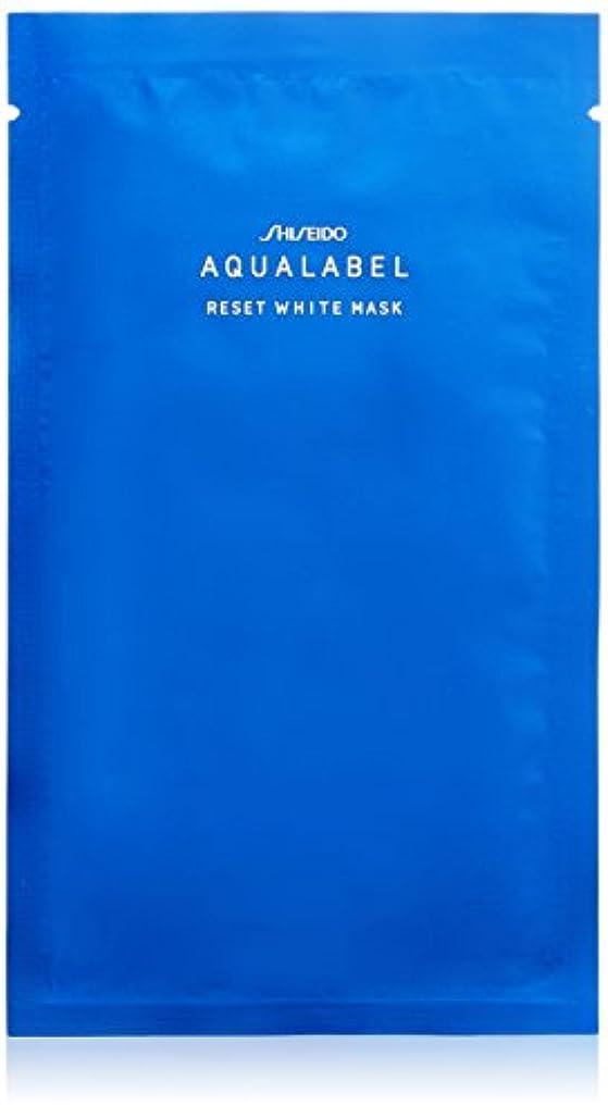 繊維バナー独裁アクアレーベル リセットホワイトマスク <4枚入り> 18mLX4枚 【医薬部外品】