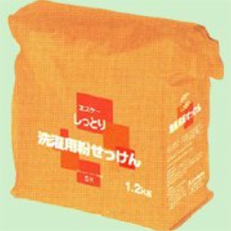 概要はっきりと毒性しっとり洗濯用粉せっけん詰替用 1.2kg   エスケー石鹸