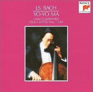 バッハ/無伴奏チェロ組曲第1番・第3番・第5番