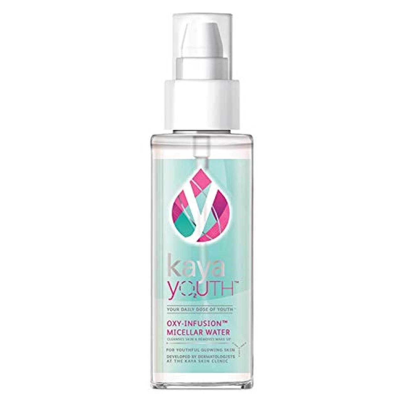 戦術郵便屋さん粘着性Kaya Youth O2 Oxy-Infusion Micellar Water, 100 ml - India