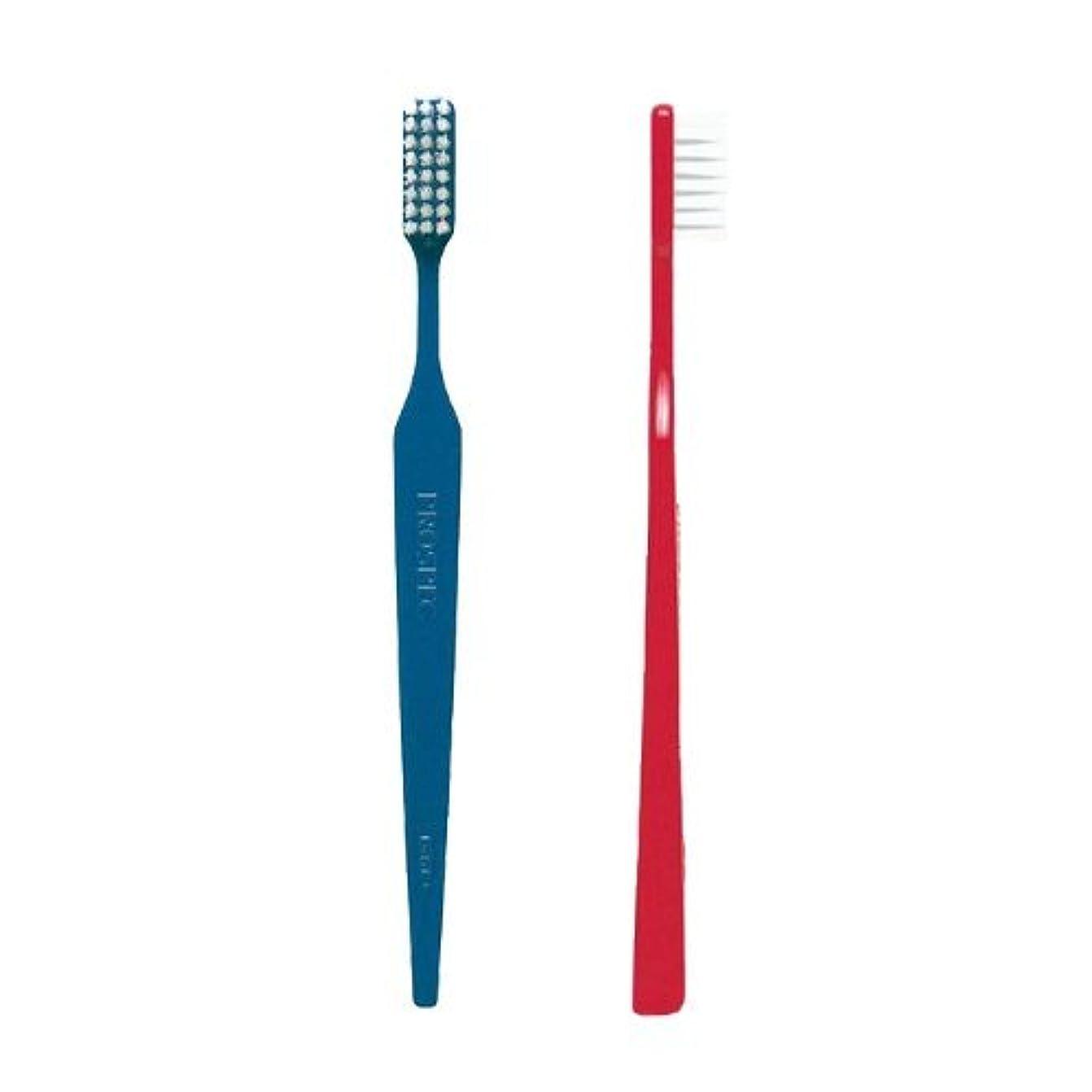 強制的フックに変わるジーシー(GC)プロスペック歯ブラシ アダルト 1本 (H(かため), おまかせ)