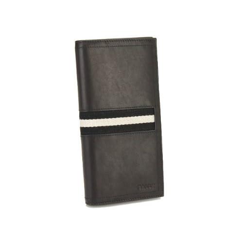 (バリー) BALLY 長財布(長札) TALIRO 290 BLACK※正面にロゴ刻印あり [並行輸入品]