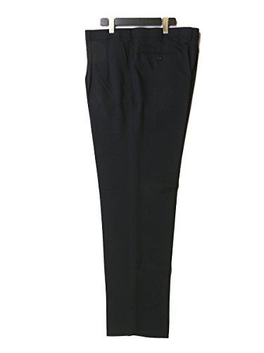 (ピータールガー) PETER LUGER 大きいサイズ メンズ ウォッシャブル ツータック スラックス ビジネス ビジネスパンツ 洗える 110 / ブラック