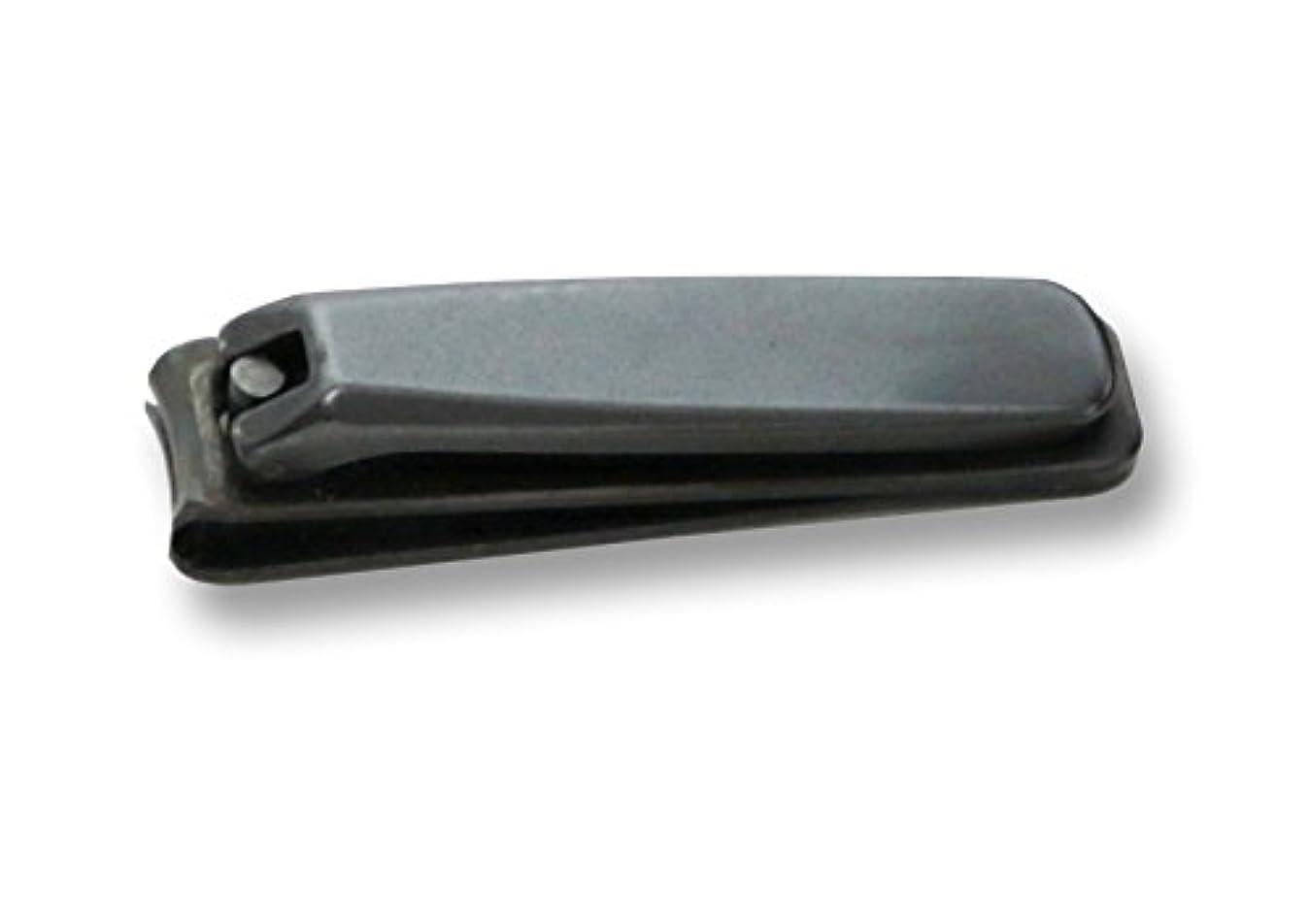 バター麻痺オーガニックKD-026 関の刃物 ブラック爪切 大 カバー付