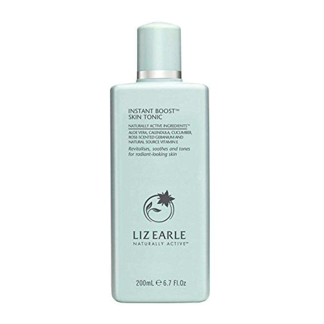 メッセンジャー試みメッセンジャーリズアールインスタントブーストスキントニックボトル200ミリリットル x4 - Liz Earle Instant Boost Skin Tonic Bottle 200ml (Pack of 4) [並行輸入品]