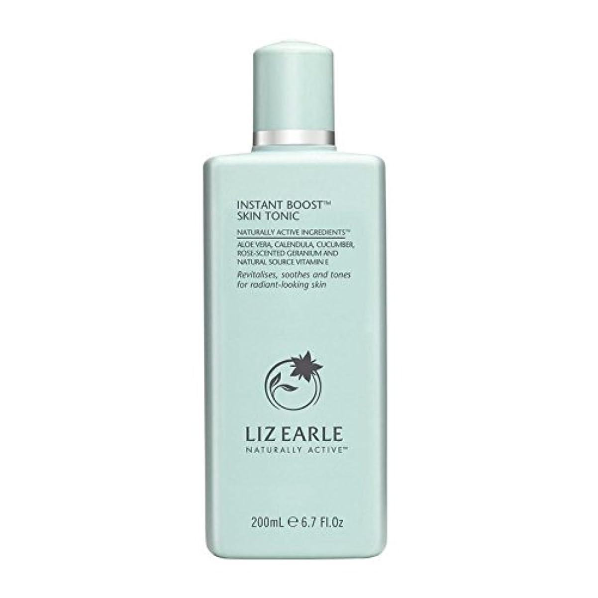 鼻施し司書リズアールインスタントブーストスキントニックボトル200ミリリットル x4 - Liz Earle Instant Boost Skin Tonic Bottle 200ml (Pack of 4) [並行輸入品]