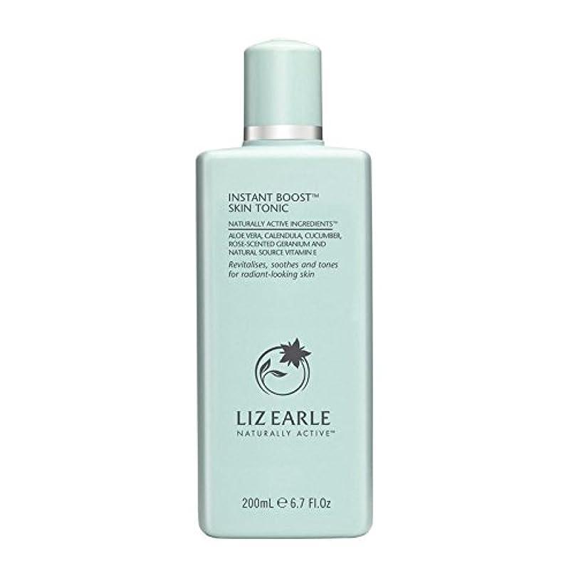 優しい灌漑マイルドLiz Earle Instant Boost Skin Tonic Bottle 200ml (Pack of 6) - リズアールインスタントブーストスキントニックボトル200ミリリットル x6 [並行輸入品]