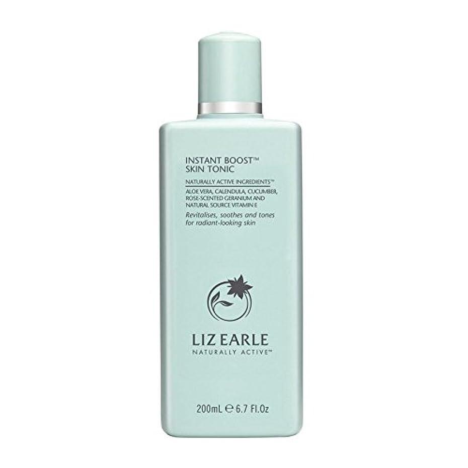 地質学シュガー甲虫リズアールインスタントブーストスキントニックボトル200ミリリットル x4 - Liz Earle Instant Boost Skin Tonic Bottle 200ml (Pack of 4) [並行輸入品]