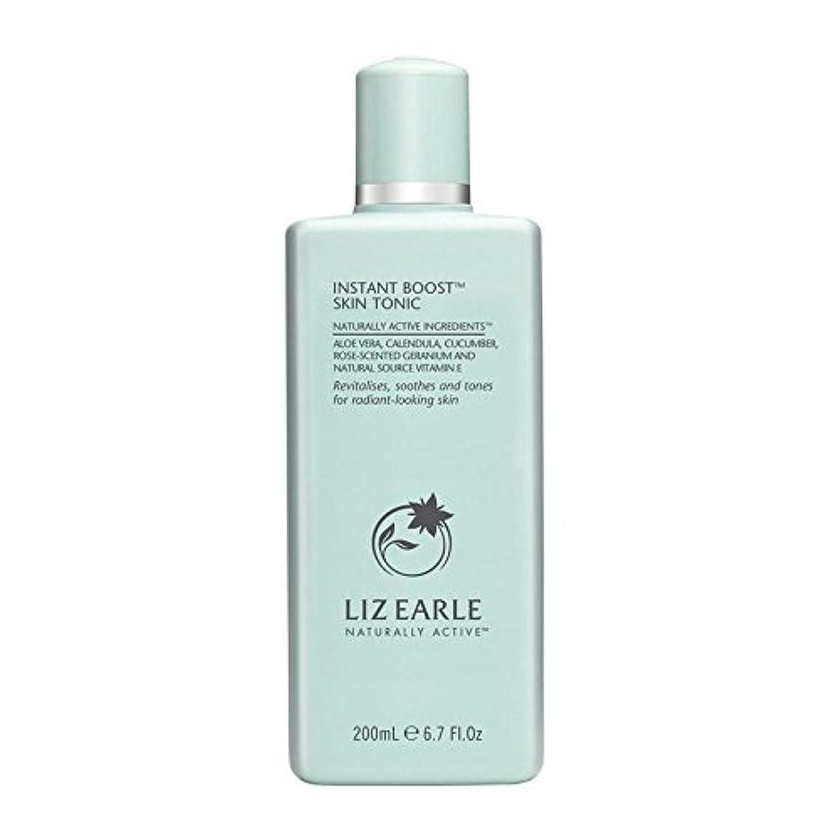 つかの間表面的な打ち上げるLiz Earle Instant Boost Skin Tonic Bottle 200ml - リズアールインスタントブーストスキントニックボトル200ミリリットル [並行輸入品]