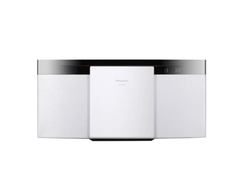 Panasonic コンパクトステレオシステム ホワイト SC-HC29-W