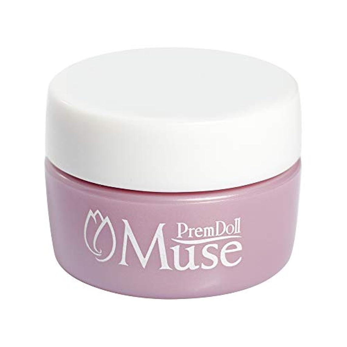 世界に死んだ筋肉のパッケージPremDoll Muse カラージェル 魔女の唇432 4g PDM-G432