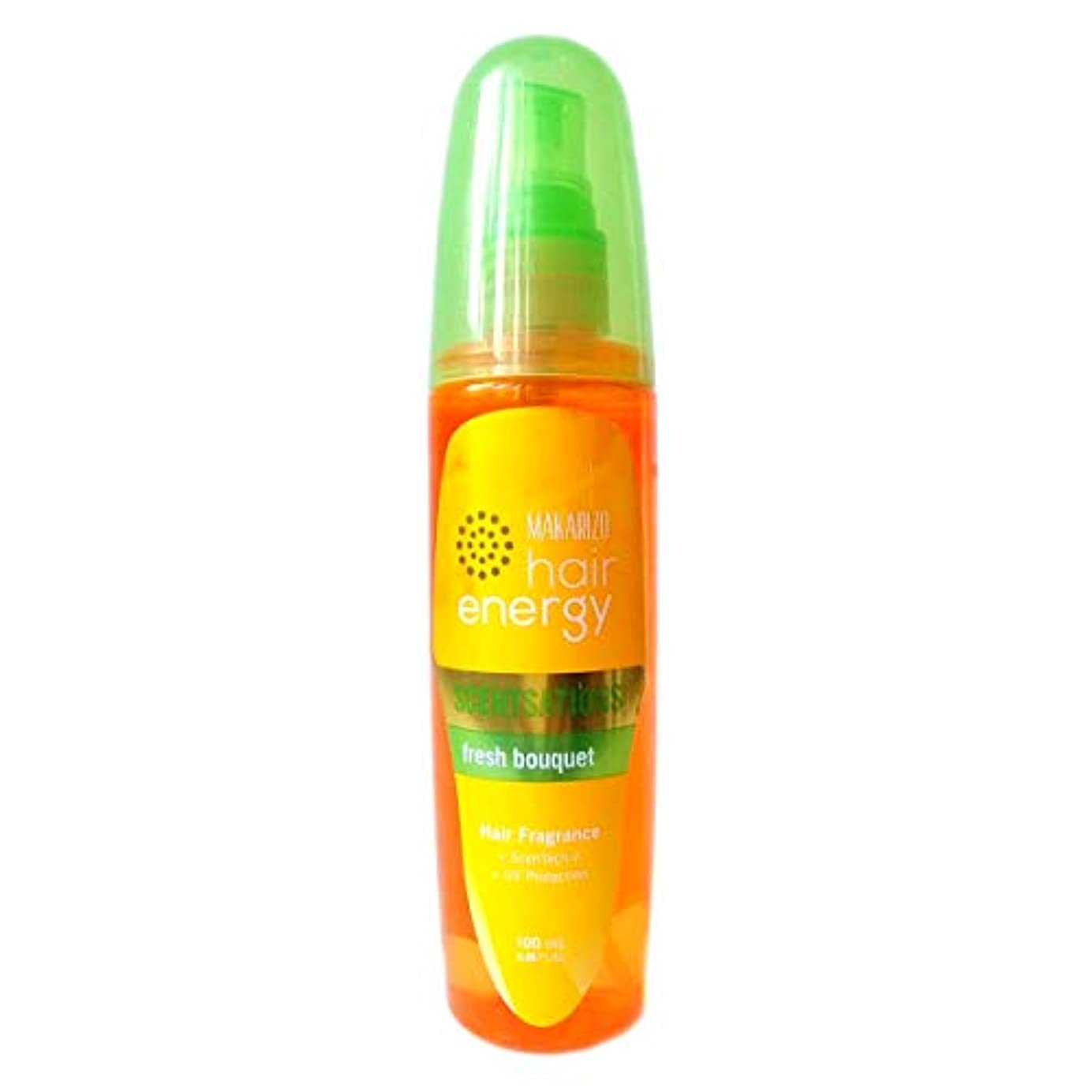 宮殿スペイン語別々にMAKARIZO マカリゾ Hair Energy ヘアエナジー Hair Fragrance ヘアフレグランス センセーション 100ml Fresh Bouquet フレッシュブーケ [海外直送品]