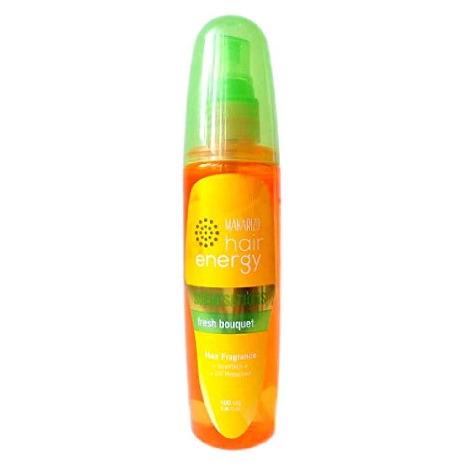 女の子支給アジャMAKARIZO マカリゾ Hair Energy ヘアエナジー Hair Fragrance ヘアフレグランス センセーション 100ml Fresh Bouquet フレッシュブーケ [海外直送品]