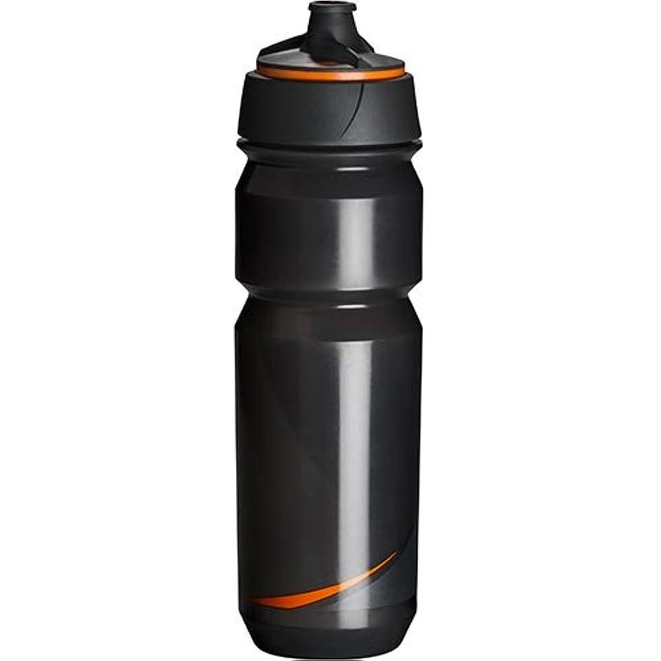保安死の顎複合Tacx(タックス) Shanti Twist SMOKE/ORG 750 ボトル スモーク/オレンジ サイクルボトル