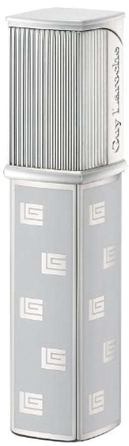 キャッシュリテラシー立法Guy Laroche 電子式ガスライター ギ?ラロッシュGL-01 日本製 ダイアシルバープリントホワイト GL01-0003