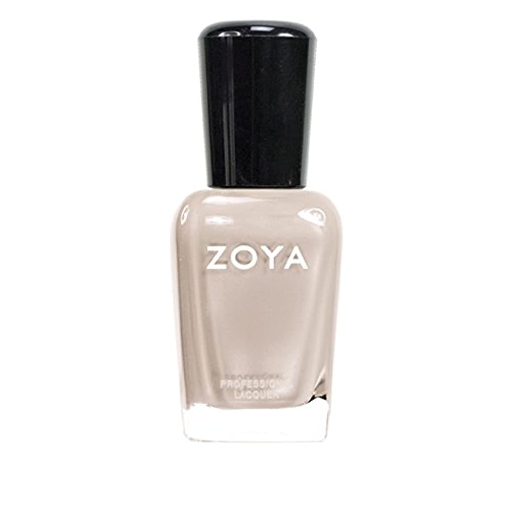 分純粋に実験室ZOYA ゾーヤ ネイルカラーZP561 MINKA ミンカ 15ml 乳白色のヌードベージュ マット 爪にやさしいネイルラッカーマニキュア