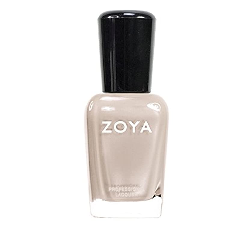 ランダム夕食を食べる細心のZOYA ゾーヤ ネイルカラーZP561 MINKA ミンカ 15ml 乳白色のヌードベージュ マット 爪にやさしいネイルラッカーマニキュア