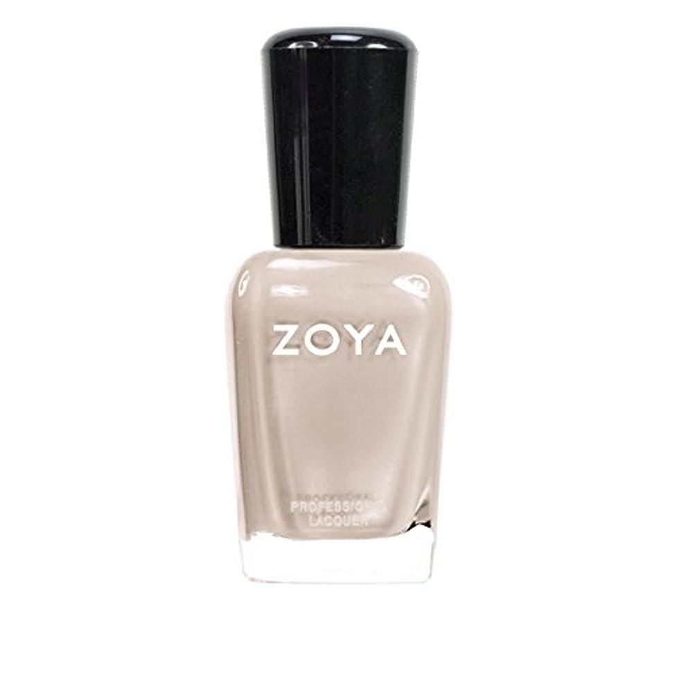 ディレクトリよく話される谷ZOYA ゾーヤ ネイルカラーZP561 MINKA ミンカ 15ml 乳白色のヌードベージュ マット 爪にやさしいネイルラッカーマニキュア