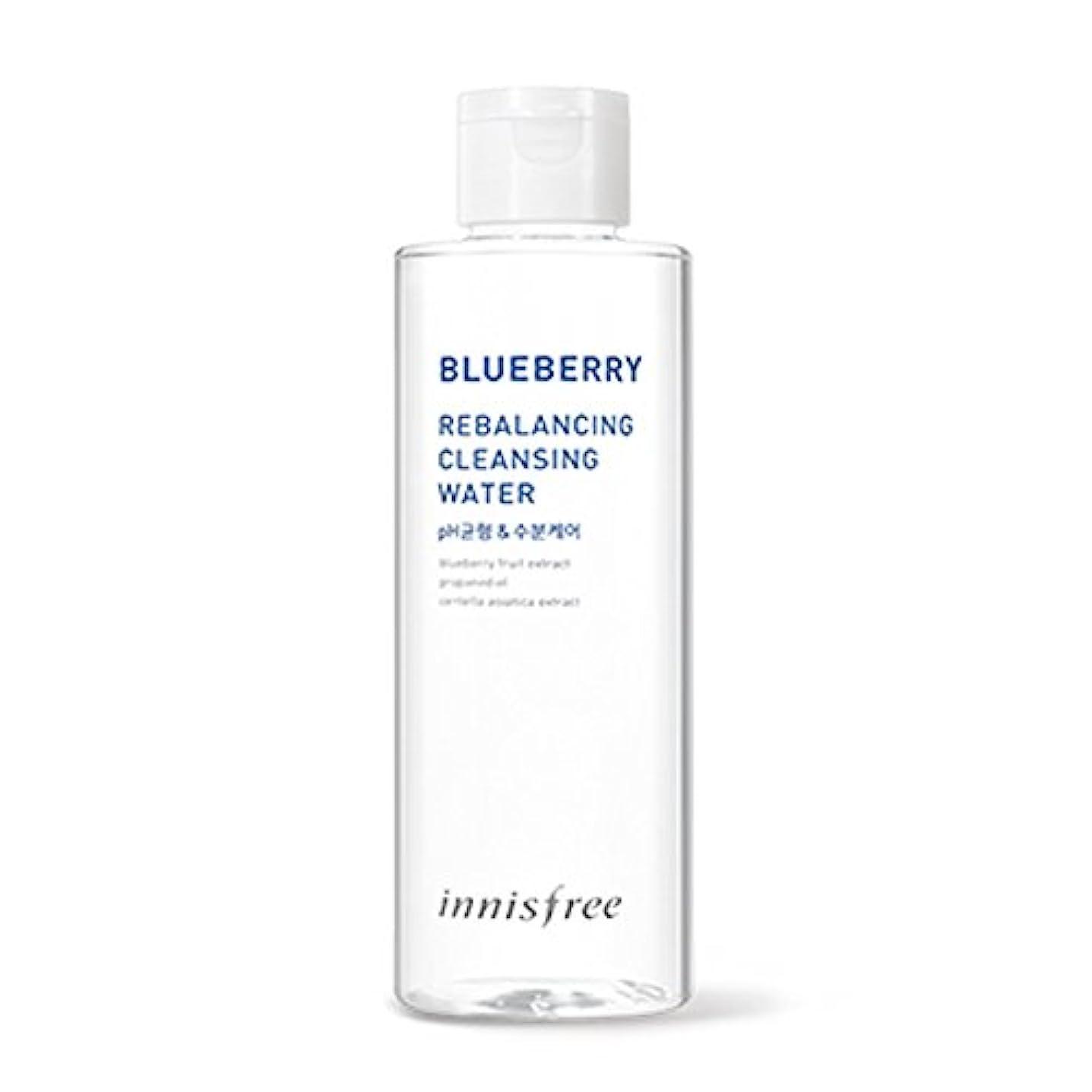 習慣緩める場所イニスフリーブルーベリーリバランシングクレンジングウォーター200ml Innisfree Blueberry Rebalancing Cleansing Water 200ml [海外直送品][並行輸入品]