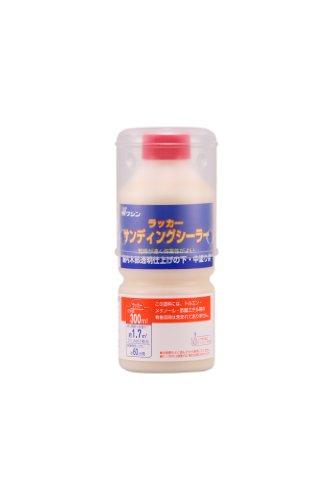 和信ペイント ラッカーサンデイングシーラー ラッカー系下塗り液 研磨しやすく作業性向上 300ml